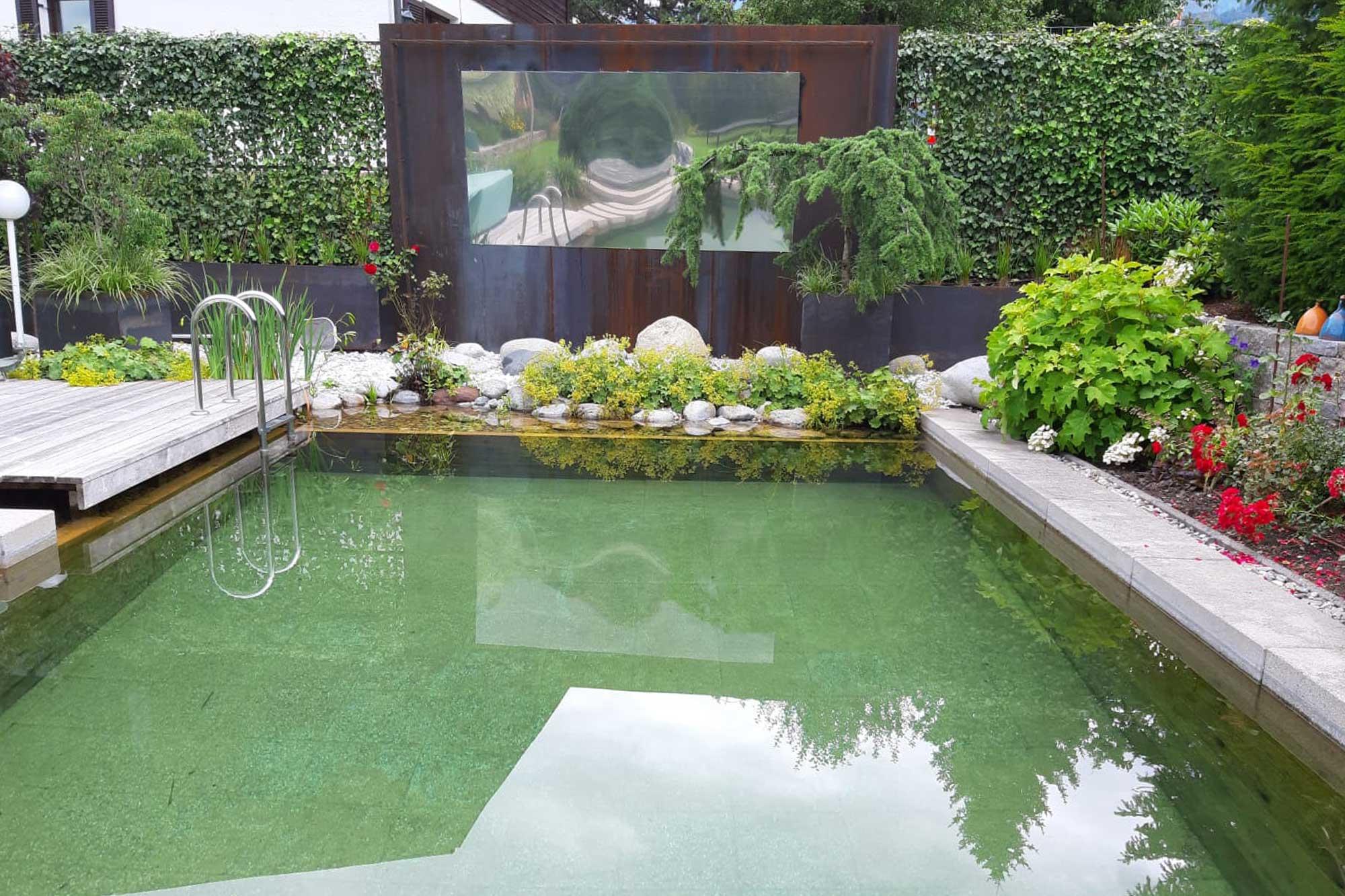 pool und naturteig reinigung innsbruck tirol